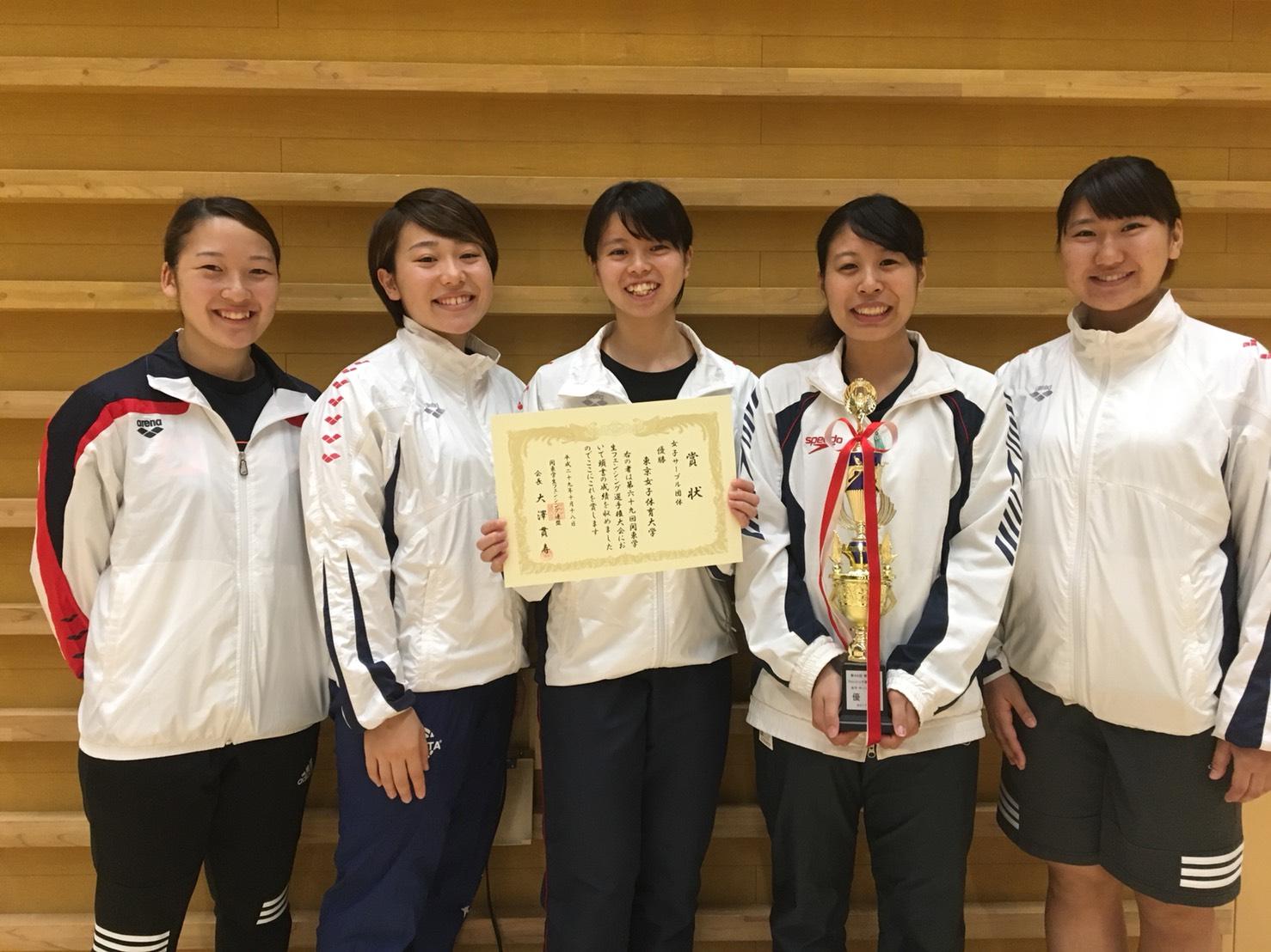 WS団東京女子体育大学